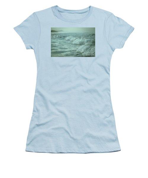Near Waves Women's T-Shirt (Junior Cut) by Iris Greenwell