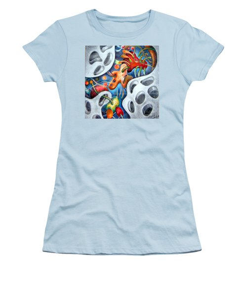 Neighborhood Block Party  Women's T-Shirt (Athletic Fit)