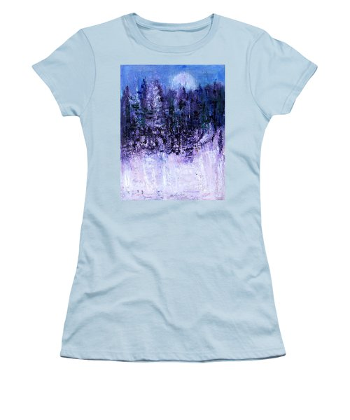 Neighbor's Woods Women's T-Shirt (Athletic Fit)