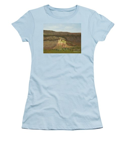 New Mexican Statues Women's T-Shirt (Athletic Fit)