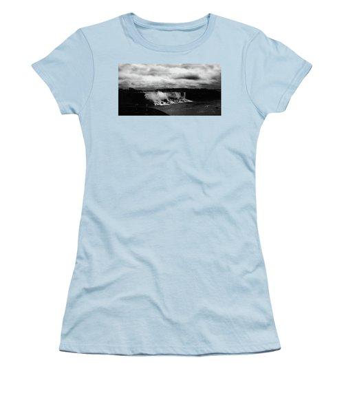Niagara Falls - Small Falls Women's T-Shirt (Athletic Fit)