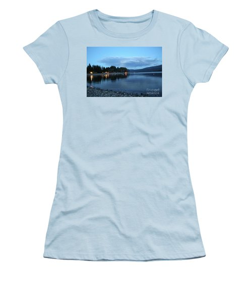 Women's T-Shirt (Junior Cut) featuring the photograph Night Fall by Victor K