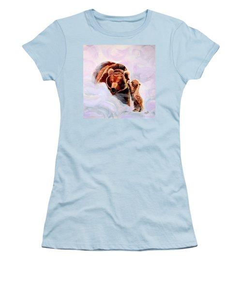 No Mama Women's T-Shirt (Junior Cut) by Phyllis Kaltenbach