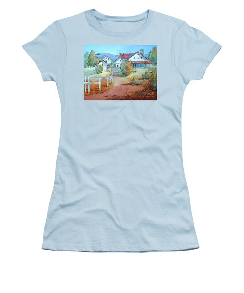 No Work On Sunday Women's T-Shirt (Athletic Fit)