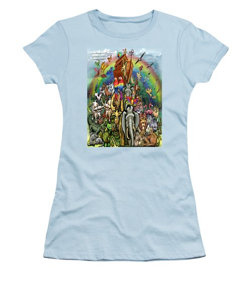 Noah's Ark Women's T-Shirt (Athletic Fit)
