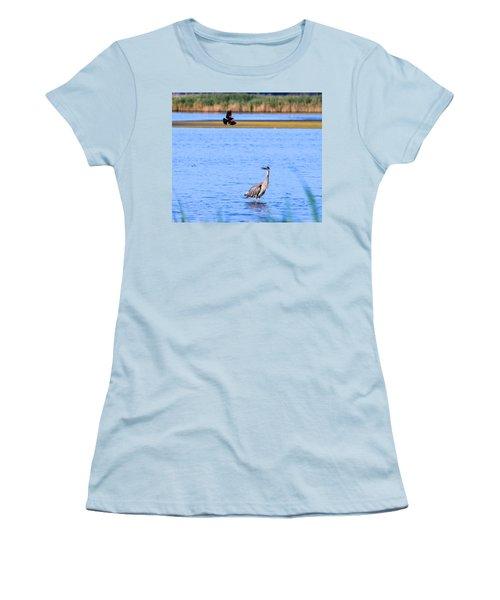 Noisy Neighbor Women's T-Shirt (Athletic Fit)