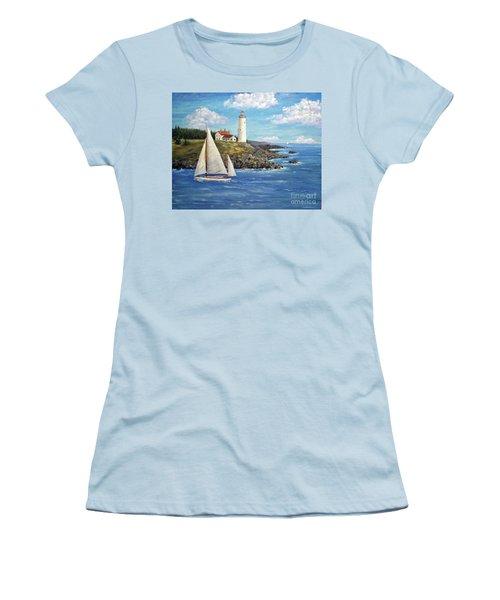 Northeast Coast Women's T-Shirt (Athletic Fit)