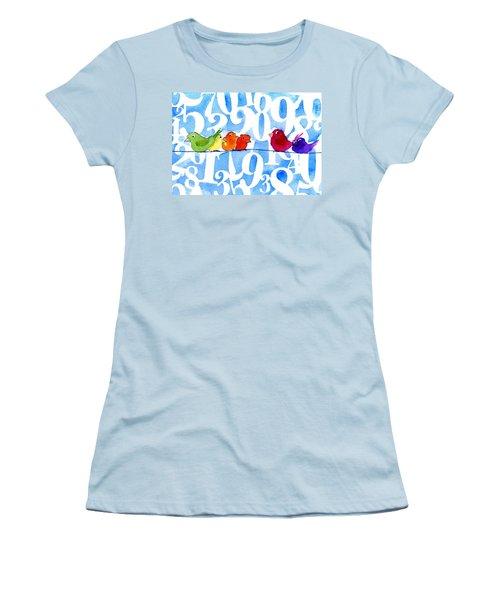Numbirds Women's T-Shirt (Athletic Fit)