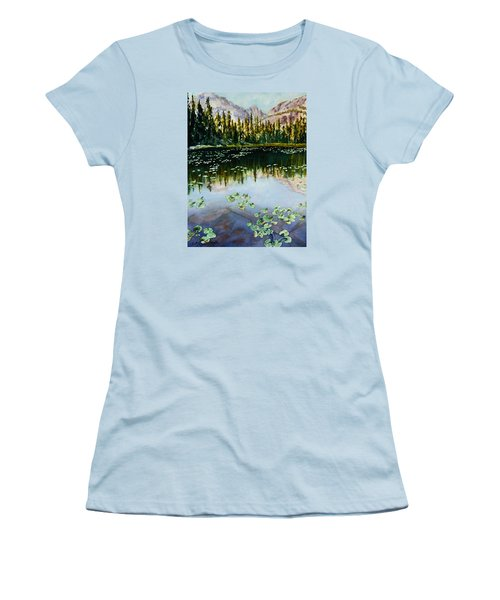 Nymph Lake Women's T-Shirt (Athletic Fit)