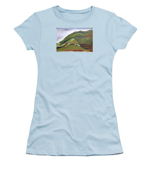 O Mountains That You Skip Women's T-Shirt (Athletic Fit)