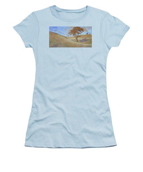 Oak Savanna, Autumn Women's T-Shirt (Athletic Fit)