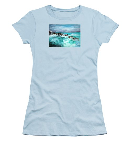 Ocean 14 Women's T-Shirt (Athletic Fit)