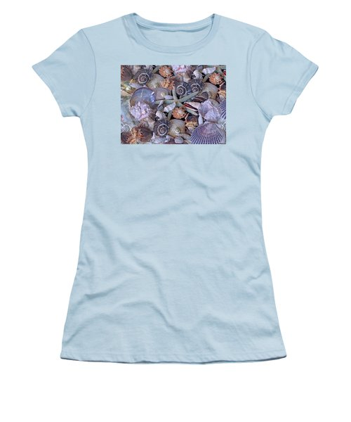 Ocean Gems 11 Women's T-Shirt (Junior Cut) by Lynda Lehmann