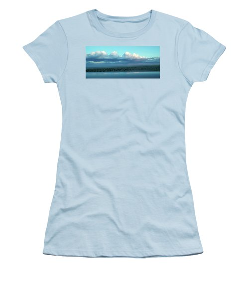 Ocean Of Sky Women's T-Shirt (Athletic Fit)