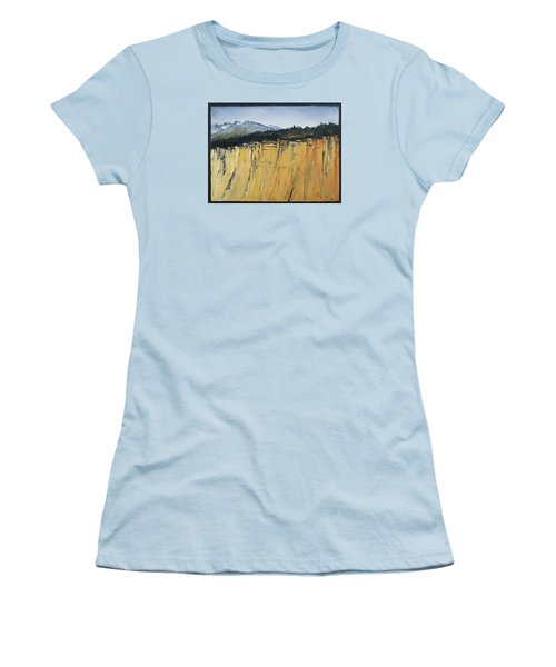 Of Bluff And Mountain Women's T-Shirt (Athletic Fit)