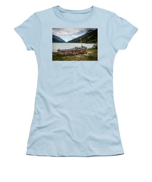 Old Sailboat Women's T-Shirt (Athletic Fit)