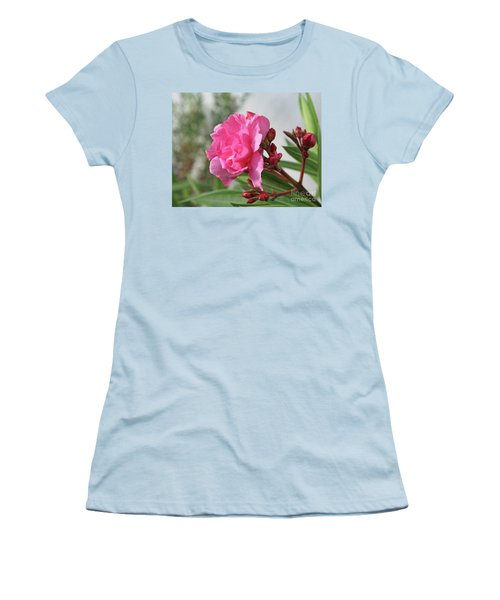 Oleander Splendens Giganteum 4 Women's T-Shirt (Athletic Fit)