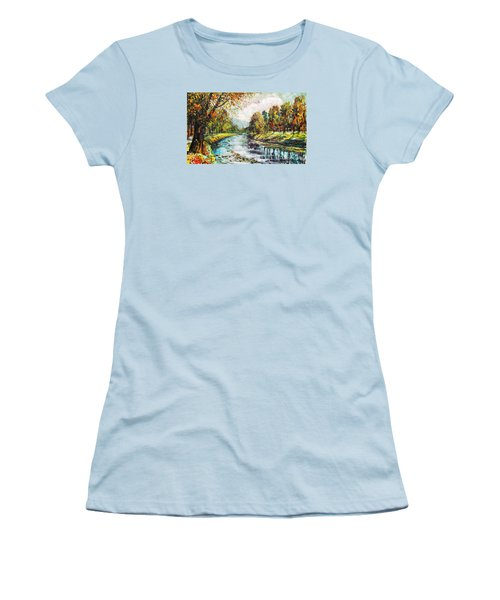 Olza River Women's T-Shirt (Athletic Fit)