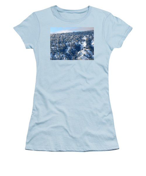 Women's T-Shirt (Junior Cut) featuring the photograph On The Far Side by Will Borden
