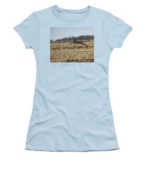 On The Run Women's T-Shirt (Athletic Fit)