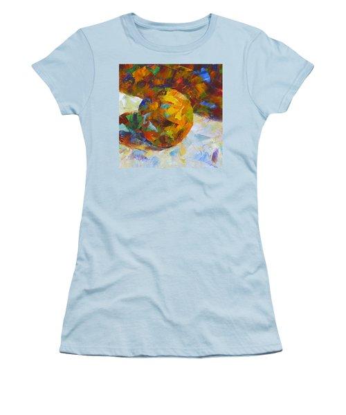 Orange Flash Women's T-Shirt (Junior Cut) by Susan Woodward