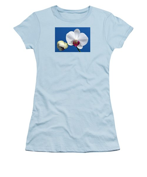 Orchid Out Of The Blue. Women's T-Shirt (Junior Cut) by Terence Davis
