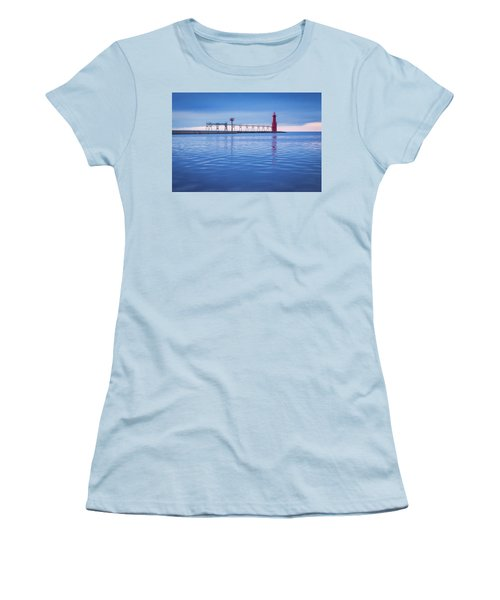 Women's T-Shirt (Junior Cut) featuring the photograph Out Of The Blue by Bill Pevlor