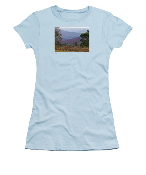 Women's T-Shirt (Junior Cut) featuring the photograph Over And Over And Over by Christian Mattison