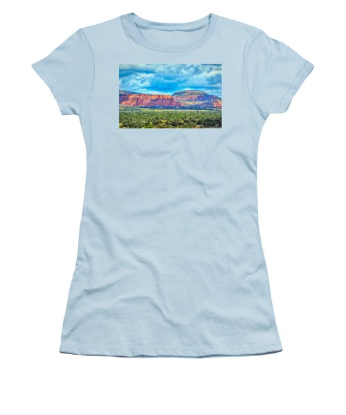 Painted New Mexico Women's T-Shirt (Athletic Fit)