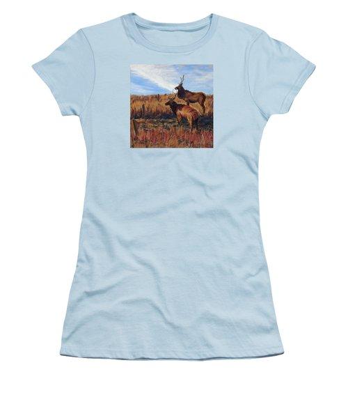 Pair O' Bulls Women's T-Shirt (Athletic Fit)