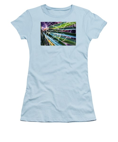 Palm Strings Women's T-Shirt (Junior Cut) by John Glass