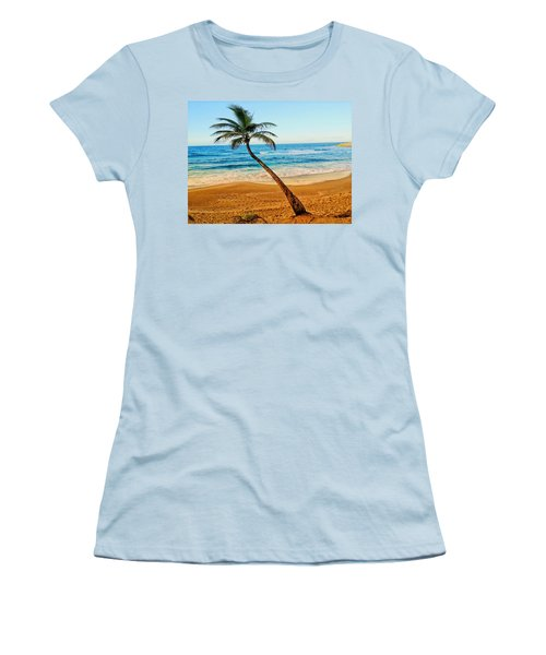 Palm Tree  Women's T-Shirt (Athletic Fit)