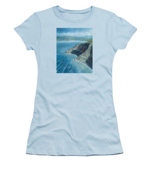 Palos Verdes Autumn Morning, No. 1 Women's T-Shirt (Athletic Fit)