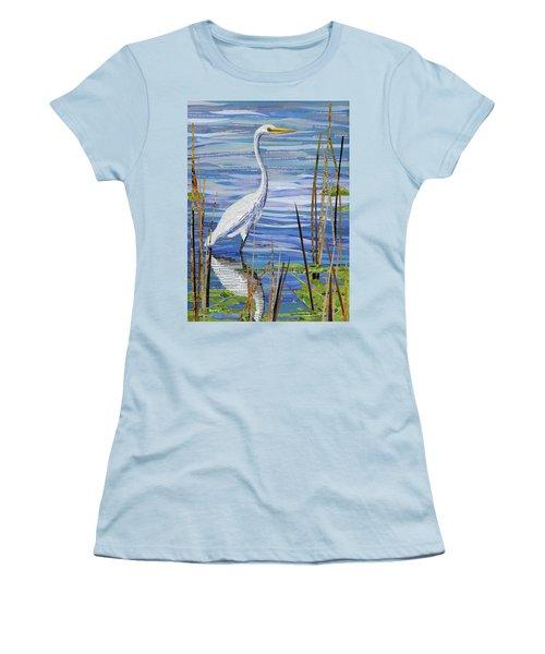 Paper Crane Women's T-Shirt (Athletic Fit)