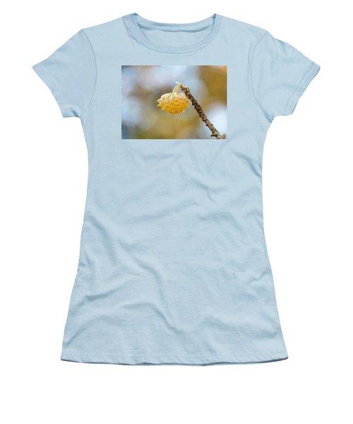 Paperbush Flower Women's T-Shirt (Athletic Fit)