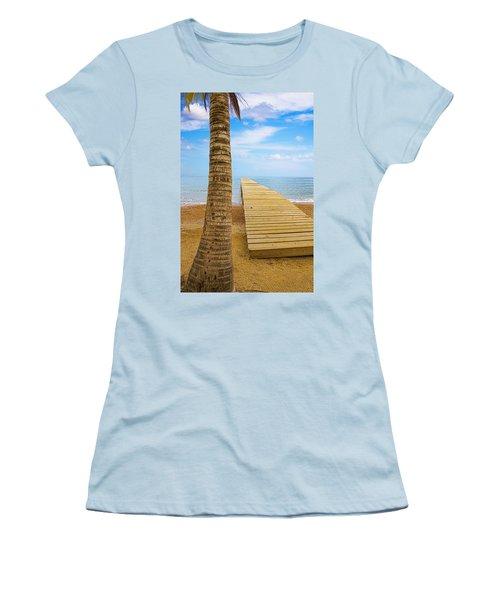 Paradise Women's T-Shirt (Junior Cut) by Marlo Horne