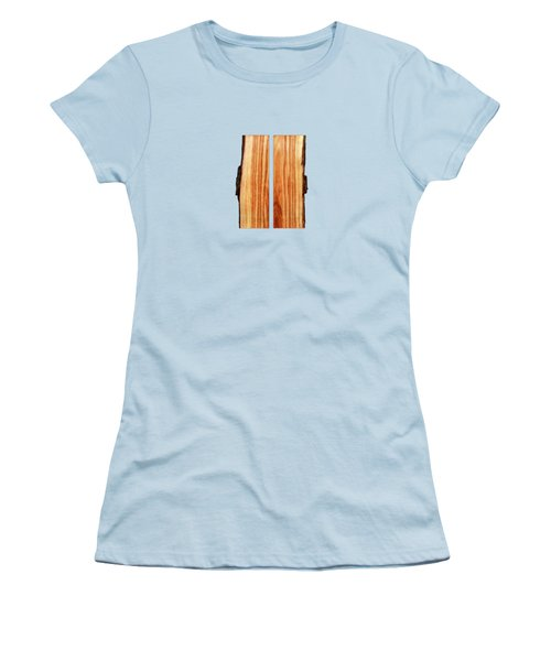 Parallel Wood Women's T-Shirt (Athletic Fit)