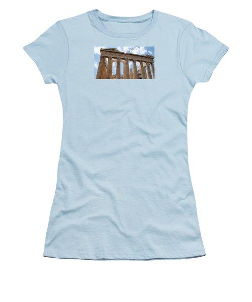 Parthenon Women's T-Shirt (Junior Cut) by Robert Moss