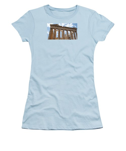 Parthenon Women's T-Shirt (Athletic Fit)