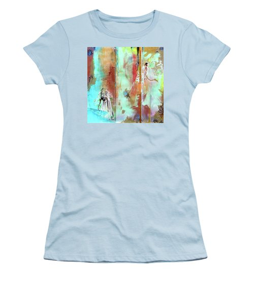Pause In The Reconstruction Of Doubt  Women's T-Shirt (Athletic Fit)