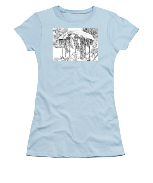 Pavilion Women's T-Shirt (Junior Cut) by Charles Cater