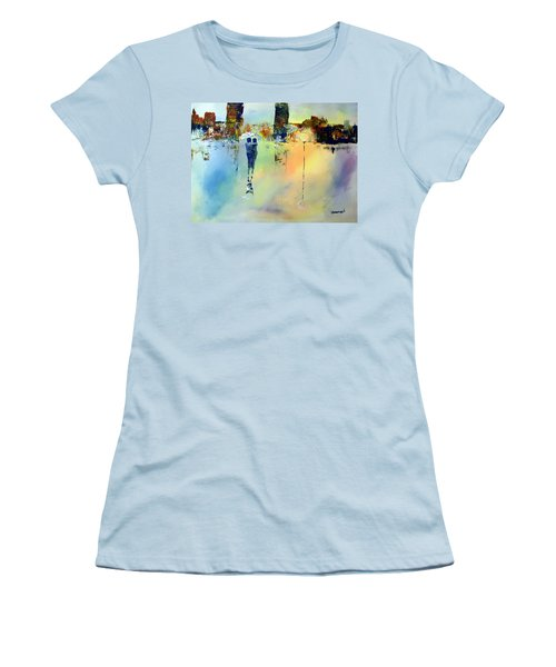 Peace At Twilight Women's T-Shirt (Athletic Fit)