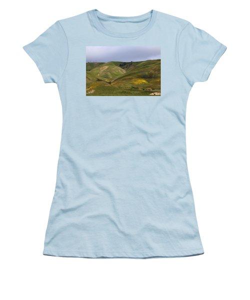 Peace Valley Women's T-Shirt (Junior Cut) by Viktor Savchenko