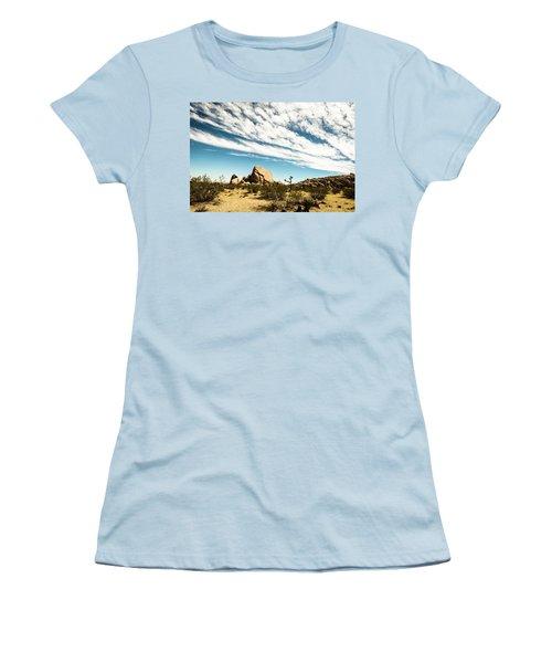 Peaceful Boulder Women's T-Shirt (Junior Cut) by Amyn Nasser