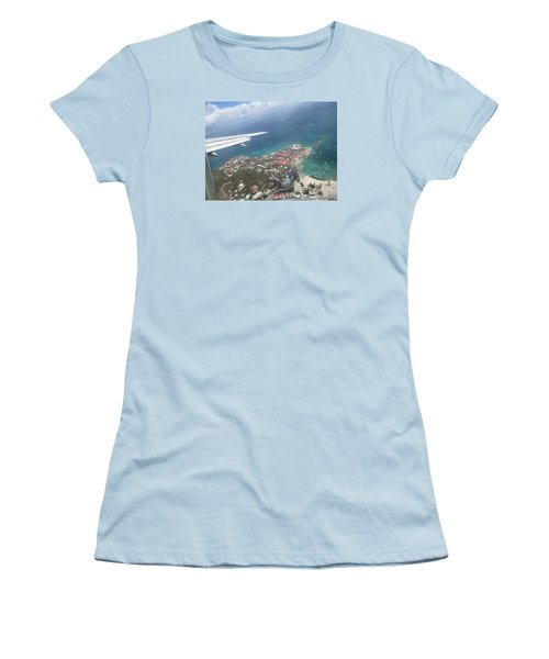 Pelican Key St Maarten Women's T-Shirt (Athletic Fit)