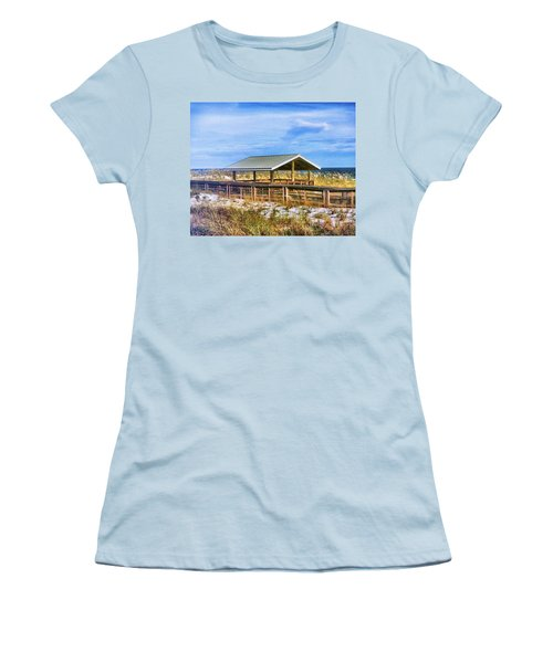 Perdido  Women's T-Shirt (Junior Cut) by Carlos Avila