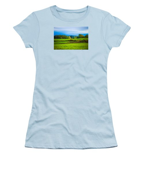 Perfect Place For A Meadow Women's T-Shirt (Athletic Fit)