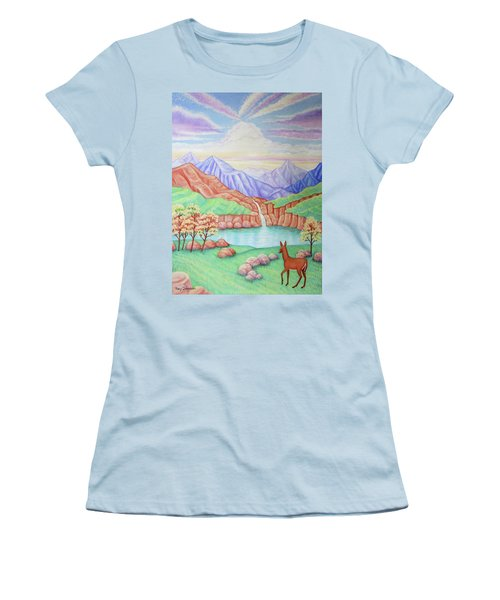 Phantom Valley Women's T-Shirt (Athletic Fit)