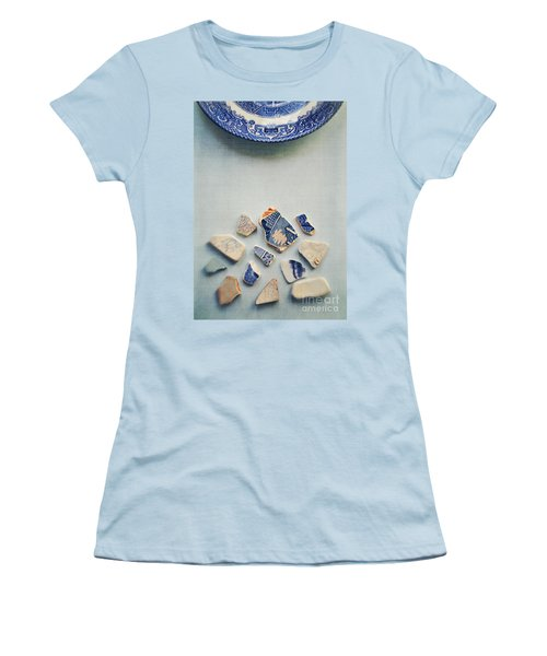 Picking Up The Broken Pieces Women's T-Shirt (Athletic Fit)