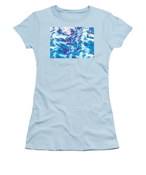 Pine Trees Women's T-Shirt (Athletic Fit)